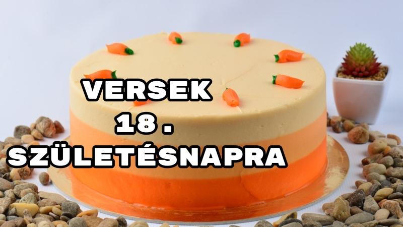 vicces 18 születésnapi idézetek Versek 18. születésnapra